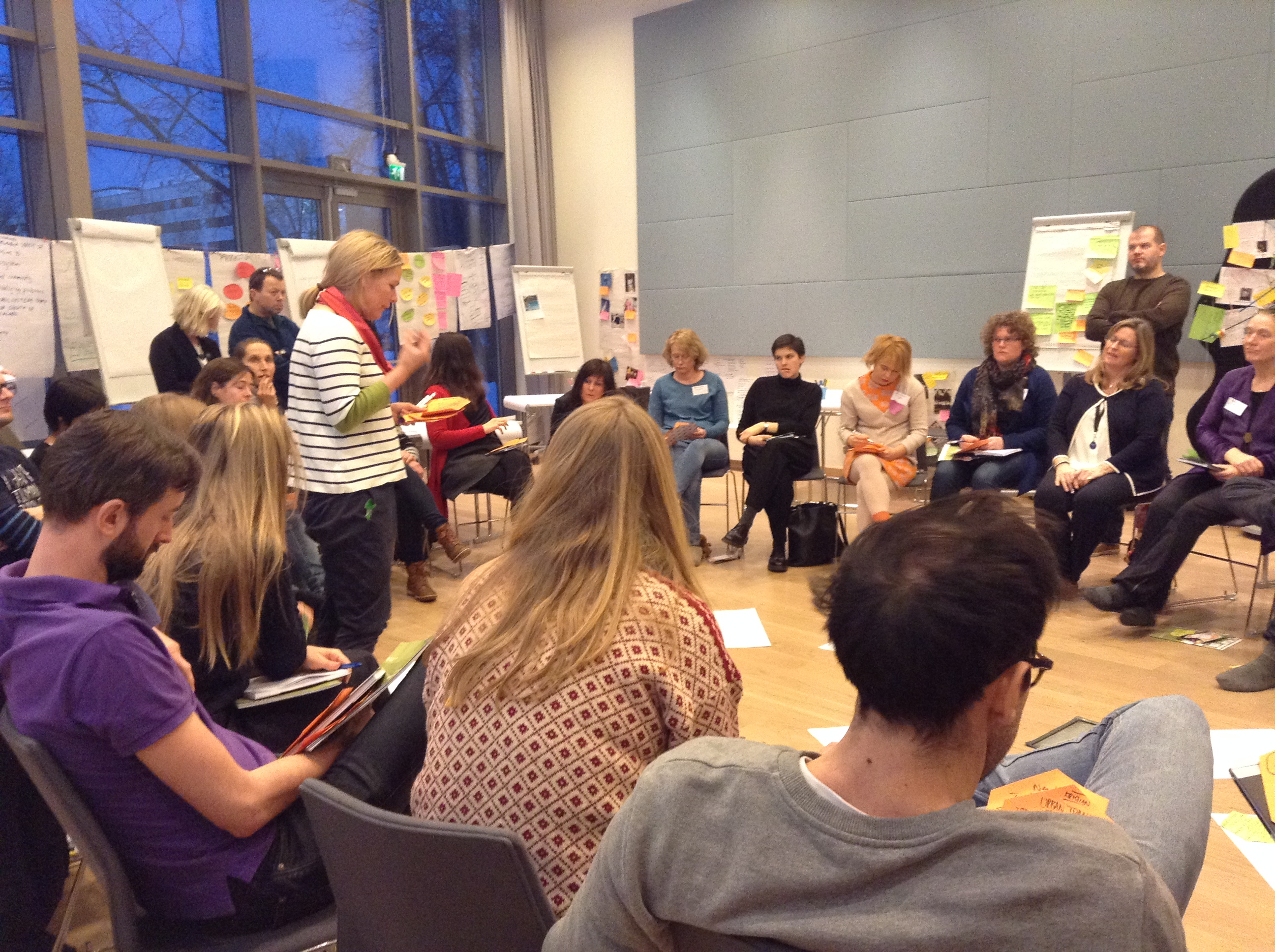 Clustering Ideas Open Space